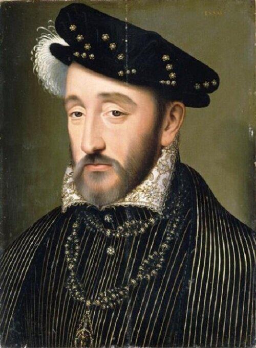 Генрих II (1519-1559) история, факты, франция